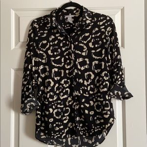 Printed Blouse size 2